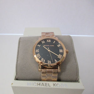 MICHAEL KORS NORIE ROSE GOLD-TONE LADIES WATCH